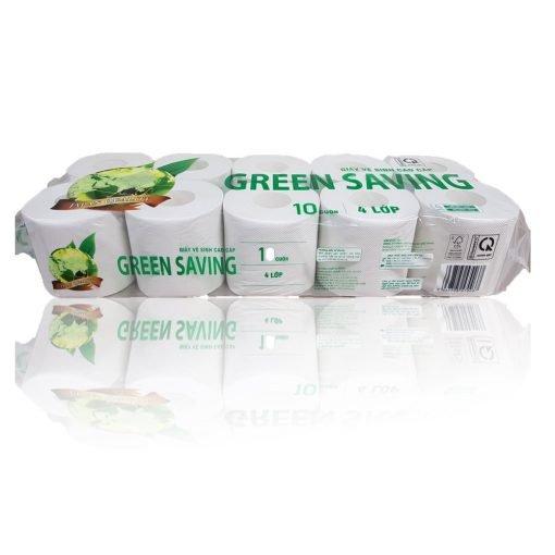 giấy vệ sinh cao cấp corelex green